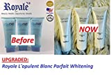 Royale L'opulent Blanc Parfait Whitening Lotion with SPF 40 3 BOTTLES (Previously Authentic Royale L-Gluta Power Lightening Lotion)