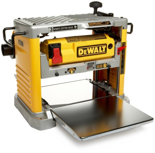 Factory-Reconditioned DEWALT DW734R Heavy Duty 12-1/2-Inch Thickness Planer with 3-Knife Cutter Head (Certified Refurbished) ()