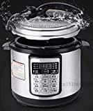 12-in-1 Multi-Use Programmable Pressure Slow Pot Cooker 4 Quart...