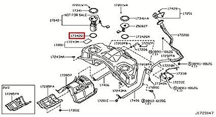 amazon com infiniti 17342 ce800 fuel pump tank seal automotive rh amazon com Evinrude Fuel Pump Diagram Fuel Pump Troubleshooting