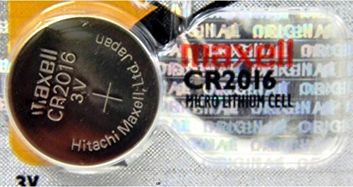 CR 2016 MAXELL LITHIUM BATTERIES (2 piece) 3V Watch 2016 New