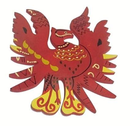Buy Plusvalue Wooden Feng Shui Red Phoenix Bird Symbol Of Fame