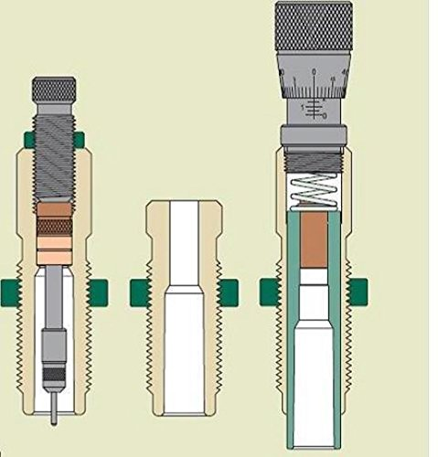 Redding Type S Match Bushing 3-Die Neck Sizer Set 30 Nosler by Redding