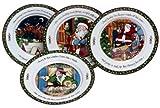 Portmeirion A Christmas Story Dinner Plates, Series 3, Set of 4