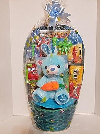Amazon happy easter basket mega boys kids toddlers happy easter basket mega boys kids toddlersgoodies negle Gallery