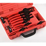 Snap Ring Plier Set 11pc Mechanic PRO Circlips W/case Car Truck Motorcycle by Snap Ring Pliers