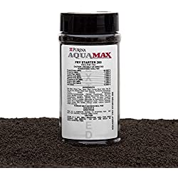"Purina AquaMax Fry Starter 200 For All Fish Types In The Fry Stage, 50% Protein, Extruded Sinking Pellet-3/64""(1.2mm), 9oz(255g)"
