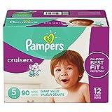 Pampers Cruisers Pañales Etapa 5, 90 Piezas