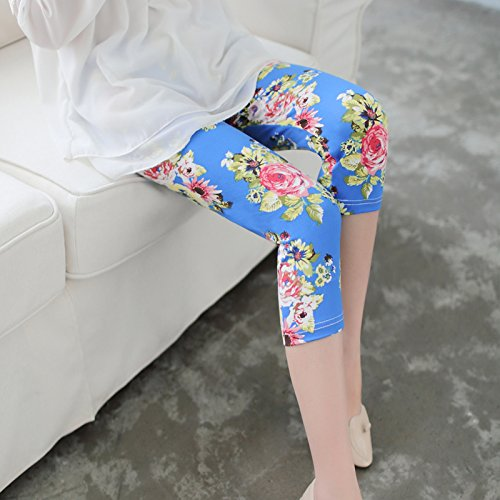 GaoXiao summer sept points, pantalons, les pantalons, bas pantalon élastique, cinq pantalon,sept sous - pantalon blanc xl