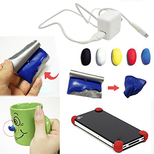 Moldable Glue Useful DIY Mouldable Glue Self-setting Repair Stick Fix Silicone Rubber Mud