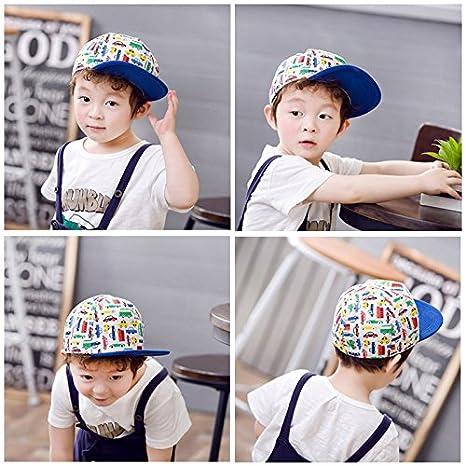 Ragazzi Summer Hat con Immagine di Auto Colorata Gifts Treat Berretto da Baseball per Bambini