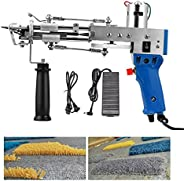 Pistola de tufagem de tapetes elétricos, 10000 r/min 5-40 pontos/s Máquina de tecelagem de tapetes, ferramenta