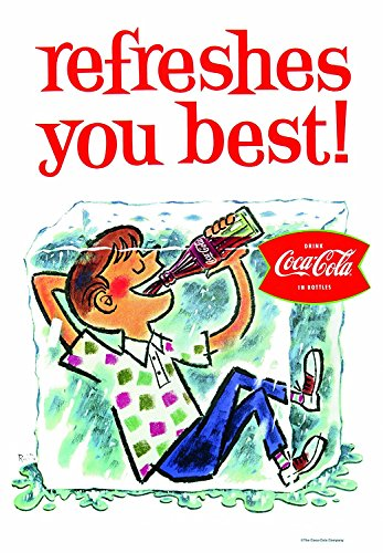 Russ Berrie 645660 Coca Cola Refreshes You Best Estate Flag By Russ Berrie   Co   Inc    Lawn   Garden