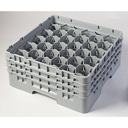 Cambro 30 Compartment Camrack 30 6 7/8'' Soft Gray by Cambro