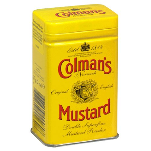 Colman's Dry Mustard, 2-Ounce Canister (Pack of 6)