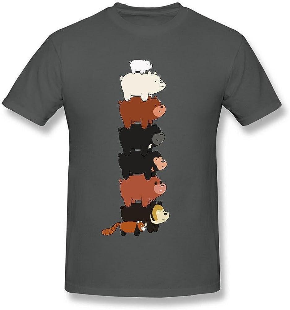 Maven Women's We Bare Bears Pokemon Poke Ball Black T Shirt by