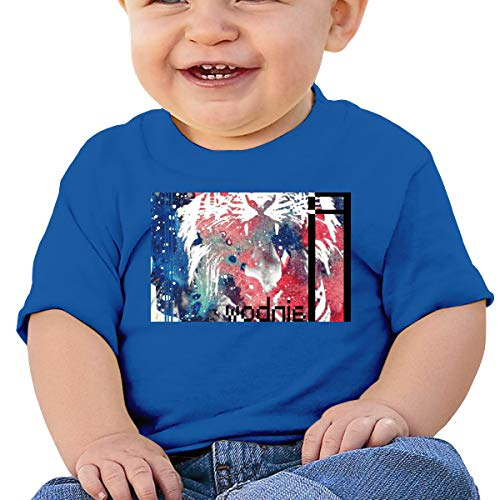 Rainbow,Artsy Rainbow Tiger Family Little Boys Short Sleeve Crew Neck T-Shirt Tops Tee 18M Pink