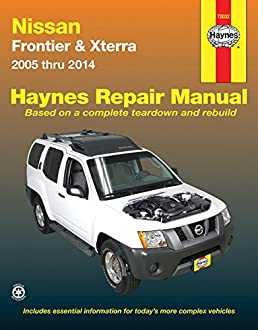 nissan frontier xterra 2005 thru 2014 haynes repair manual john rh amazon com 2006 Nissan Xterra Nissan Xterra Manual Transmission