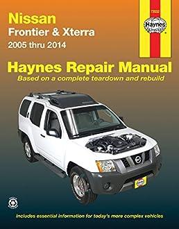 nissan frontier xterra 2005 thru 2014 haynes repair manual john rh amazon com 2000 nissan xterra repair manual download 2013 Nissan Xterra