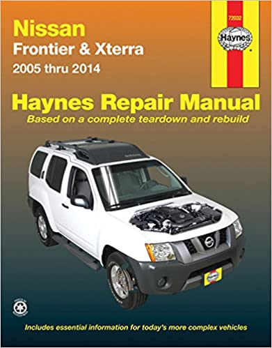 Nissan frontier xterra 2005 thru 2014 haynes repair manual john nissan frontier xterra 2005 thru 2014 haynes repair manual illustrated edition fandeluxe Gallery