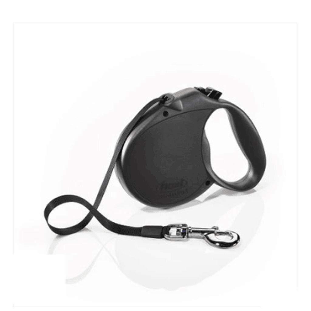 JWDP Large Black Grip Automatic Telescopic Leash Small Dog Dog Hyena Rope Pet Artifact Dog Chain