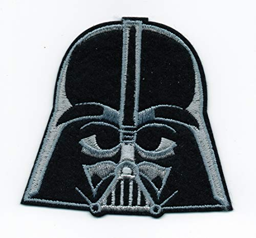 Patch Disney Star Wars Darth Vader Head Helmet Dark Side Force Lucas Film Badge Commando Cycles Motorcycle Hat Vest Owner USA Chopper Polo Jacket T Shirt Embroidered Applique Iron On Sew Bestdealhere