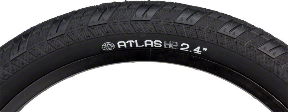 Fiction Atlas Tire Hp 20 x 2.4ブラック B0756PYTHM
