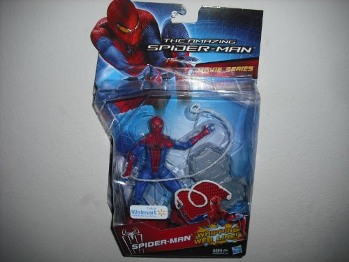 The Amazing Spiderman Movie Series 6 Inch Whipping Web Line Walmart Exclusive -