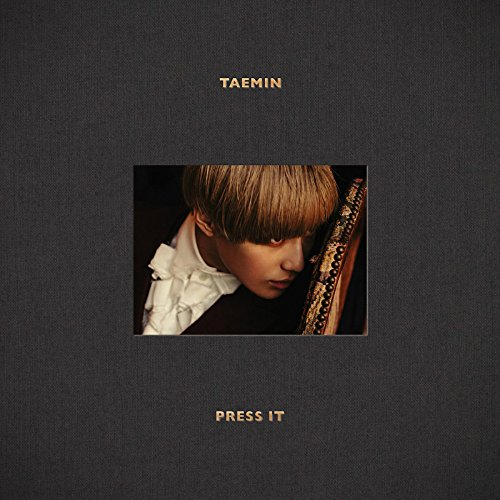 Tae Min Vol. 1 Press It (Random Cover) CD + Photo Booklet + Official Photocard + Folded Poster + Extra Gift Photocard