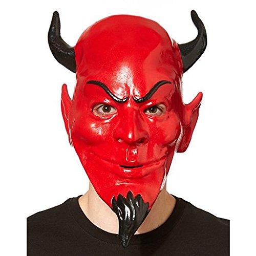 The Red Devil Scream Queens Halloween Costume (Costume Beautiful Red Devil Mask Scream)