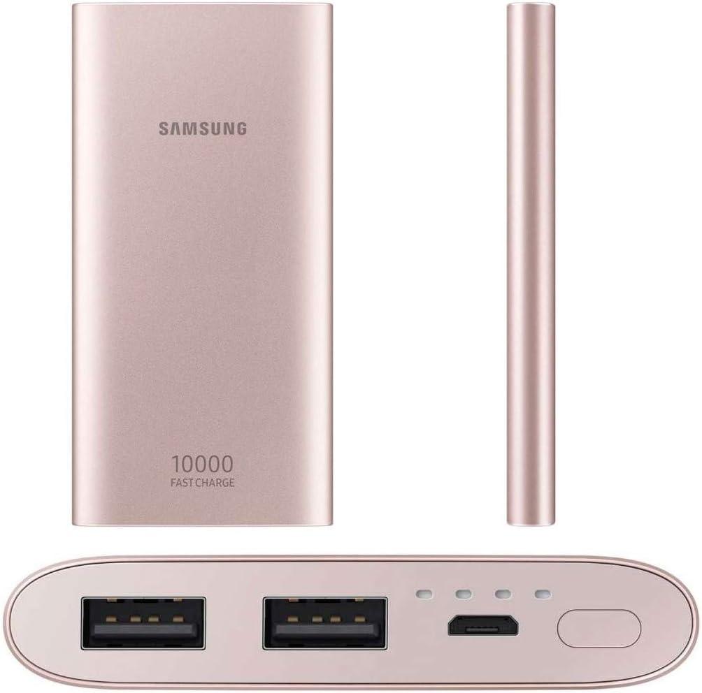 SAMSUNG EB-P1100BPEGWW batería Externa Rosa 10000 mAh: Amazon.es: Electrónica