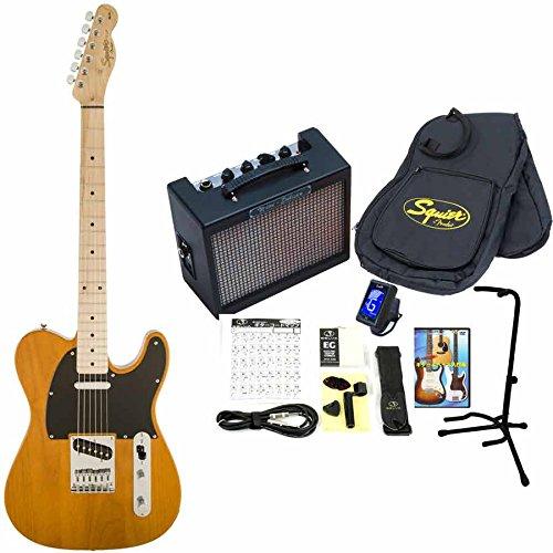 Squier by Fender/Affinity Telecaster 【Fender Mustangアンプ14点セット】 スクワイヤー エレキギター (BB)  BB B01LEDMN6K