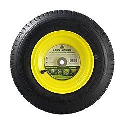MARASTAR 21456 16x6.50-8 Front Tire Assembly Repla