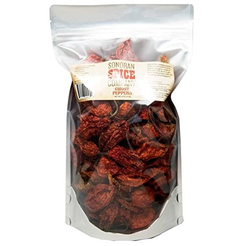 - Ghost Peppers - Oven Dried 4 Oz.