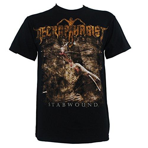 Necrophagist Men's Stabwound T-shirt Medium Black