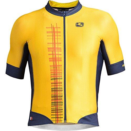 Giordana Moda FR-C Pro Short-Sleeve Jersey - Men's Giallo, 3XL