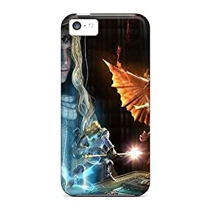 Mialisabblake Scratch-free Phone Case For Iphone 5c- Retail Packaging - Little Monster