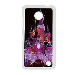 Hard Plastic Phone Case For Man For Lumia 630 Design With Disney Castle Choose Design 2