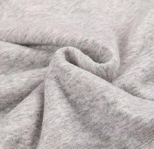 Inverno Maniche Lettera Sweatshirt Autunno Oversize Pullover Lunghe Elegante Cappuccio Donna Grigio Casual Cappotti con Stampata Giacca Moda Tops Felpe Hoodie Felpa Maglietta qF87Iw