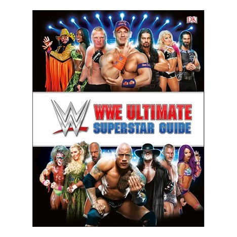 Book Mens T-shirt - WWE Ultimate Superstar Guide, 2nd Edition