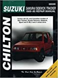 Suzuki Vitara, Santana, SJ413, Samurai and X-90, 1987-98 (Chilton Total Car Care) by Chilton Editorial, Chilton Automotive Books, The Nichols/Chi published by Haynes Manuals (1998)