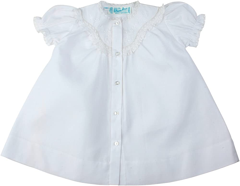 Feltman Brothers Girls White Daygown with Lace