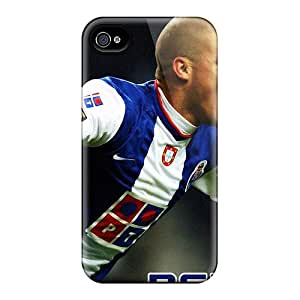 Iphone 4/4s Case Bumper Tpu Skin Cover For The Defender Of Real Madrid Pepe Accessories