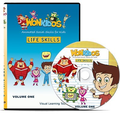 Wonkidos Animated Social Skills DVD Volume One: Life ()