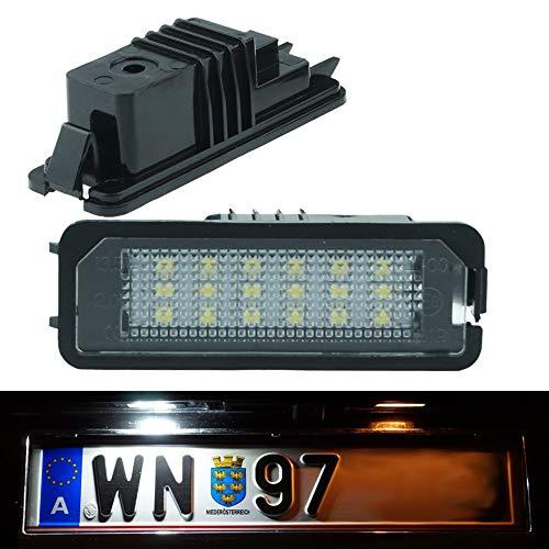 DoLED D01 LED Kennzeichenbeleuchtung mit E-Pr/üfzeichen