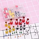 Polymer Clay Cutters,40Pcs Stainless Steel+Plastic