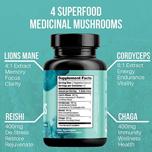 New Optify Mushroom Supplement Phos4essence