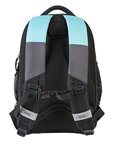 Carbon Schulrucksack Sportrucksack Daypack Notebook Tablet Tasche 29 l - 47 x 30 x 20 cm edel mehrfarbig (Capri) qp4JEM