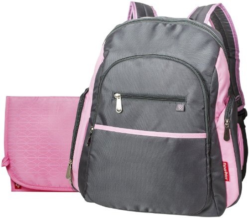 Fisher Price Sporty Backpack Grey