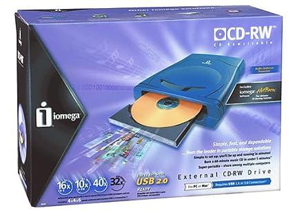 IOMEGA USB CD-RW DRIVER DOWNLOAD (2019)